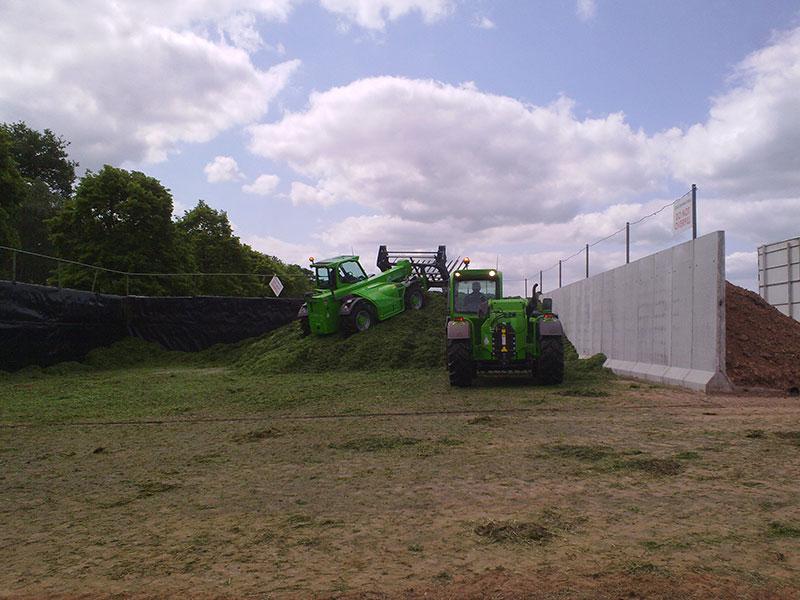 Precast Concrete Free Standing Retainer Walls