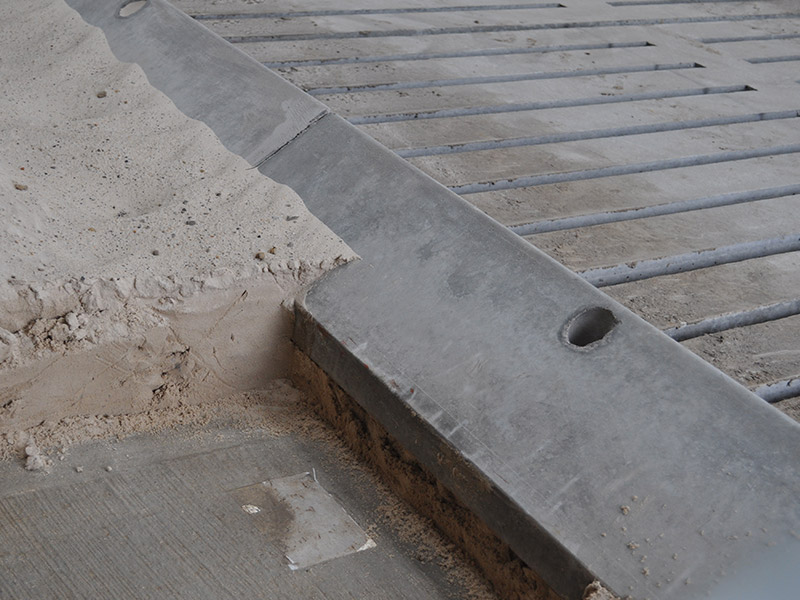 Precast Concrete Cubicle Kerbs for Dairy Units Supplied across