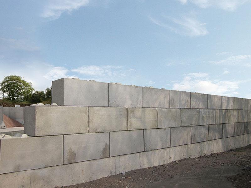 Quikbloc retaining wall