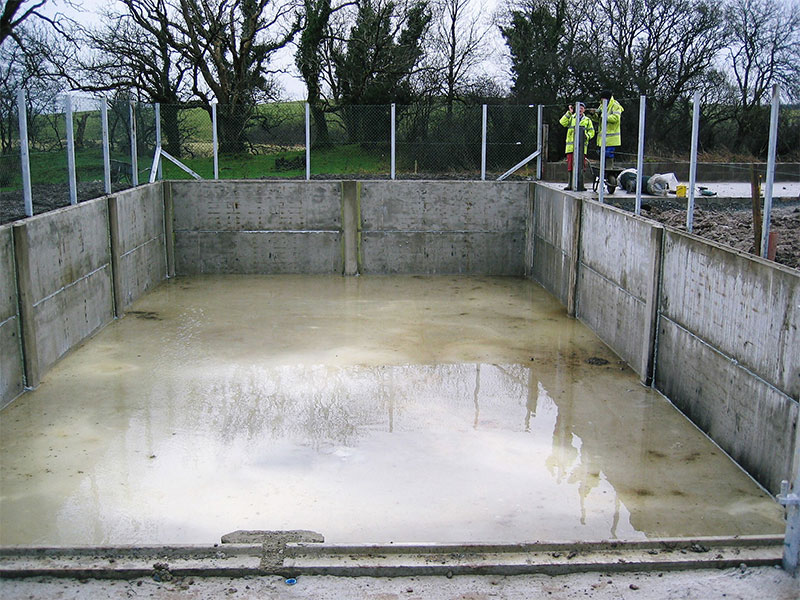 Underground Slurry Tanks