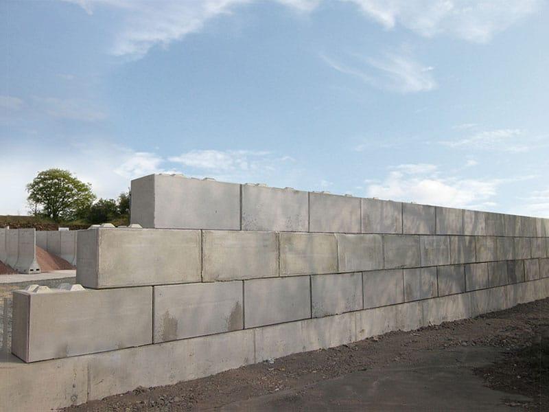 Quikbloc retaining wall 4
