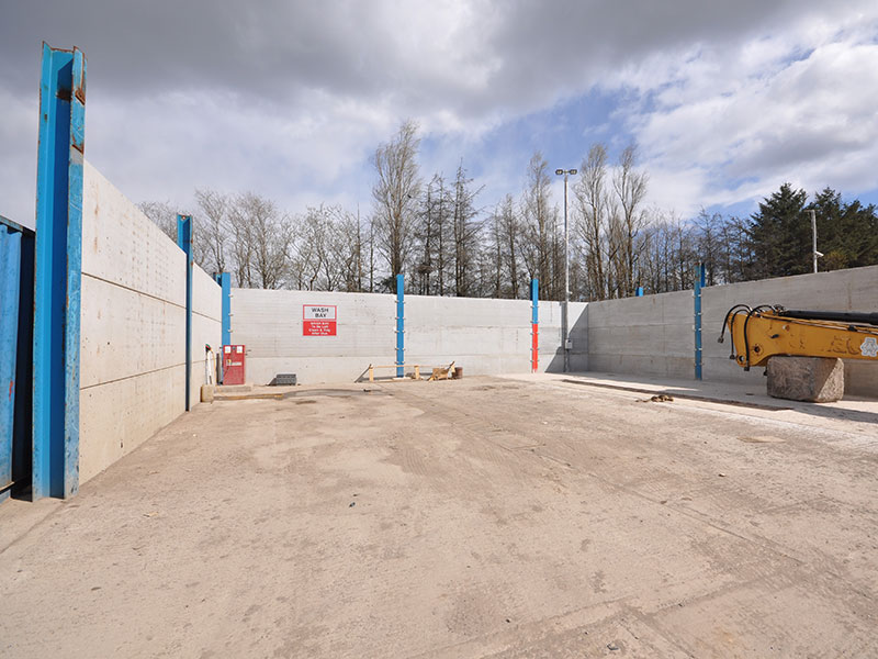 Prestressed Concrete Wall Panels From Mj Harrison Supplies